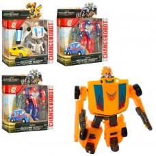 Трансформер 668-60 TF, робот+машинка, 12см, оружие, 2вида, 2цв