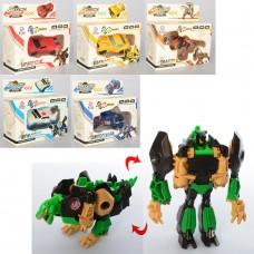 Трансформер 675H робот+машинка 4в, робот+дракон 2в, 10см, 6видов