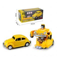 Трансформер 8801-A TF, машина17см+робот, ездит, звук, свет