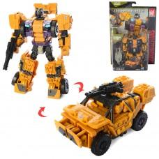 Трансформер B104 13см, робот+джип