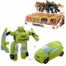 Трансформер BX211-214 робот+машинка, 8см, 12шт 4вида