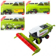 Транспорт SQ82012-2 металл, 17 см, сельхозтехника