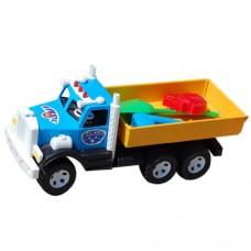 Автомобиль 009/1 БАМСИК Машина Фарго грузовик + песочный набор