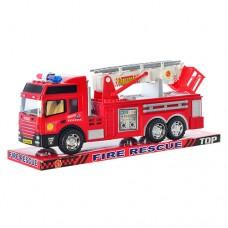 Пожарная машина 8822 ZY Пожарная машина 8822 60шт инерционная, 30см, подвижные детали, в слюде, 34-14-10см