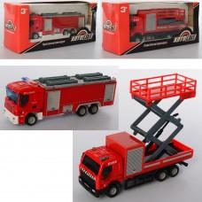 Пожарная машина AS-2280 АвтоСвіт, металл, 14, 5см, 3вида