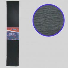 KR55-8019 Креп-бумага 55%, черный