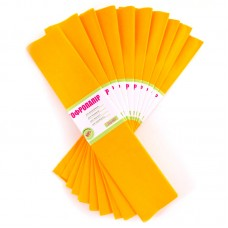 Бумага гофр. темно-желтый 55%