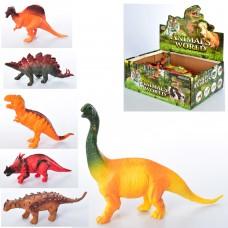 Динозавр 666D-92 от 17см, 12шт 6видов