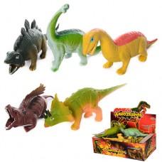 Динозавр 7209 18см, антистресс, 12шт 6видов