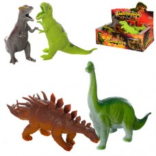Динозавр 7211 от 18см, антистресс, 12шт 6видов