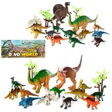 Динозавры 330-83A 14 шт, от 7 см