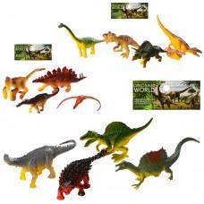 Динозавры 610 4шт, от 6см, 3видаке