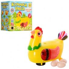 Курица 20259 17-16 см, несет яйца