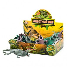 Животное 7206 крокодил, 12шт