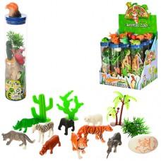 Животные 004 10 шт, от 3 см, яйцо, деревья