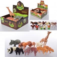 Животные A962-963 от 6, 5см, 2вида дикие/домашние, 12шт 12видов