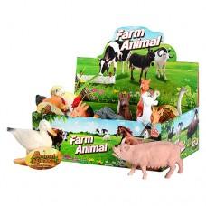 Животные N 588-2 домашние, 12см, 12шт