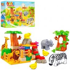 Конструктор 5031 зоопарк, 43 детали, 3+