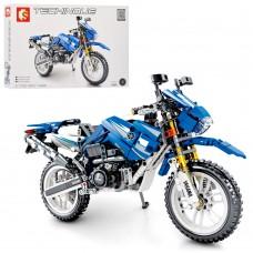 Конструктор 701702 мотоцикл, 799дет