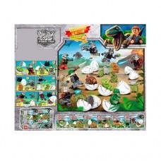 Конструктор 82151 JW, динозавр, фигурка, оружие, от 25 деталей,