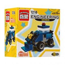Конструктор BRICK 1218 стройтехника-бульдозер, 30дет