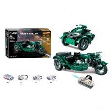 Конструктор C51021W мотоцикл-на радиоуправлении 2.4GHz, 36см, рез.колеса, 629 деталей, на батарейках