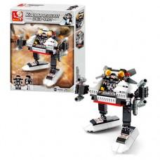 Конструктор SLUBAN M38-B0336A космическая серия, робот, 108дет