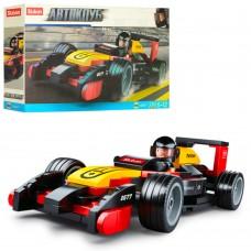 Конструктор SLUBAN M38-B0677 гоночная машина, фигурка, 120дет
