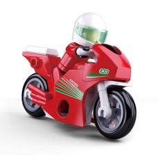 Конструктор SLUBAN M38-B0717A мотоцикл, фигурка, 60дет