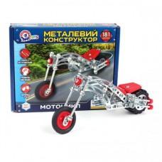 Конструктор металлический Мотоцикл ТехноК арт.4807