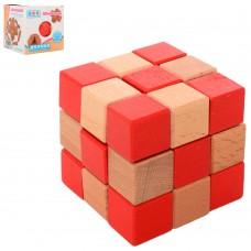 Головоломка 5150 деревянная, куб
