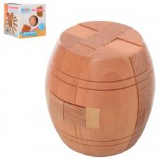 Головоломка 5240 деревянная, бочка