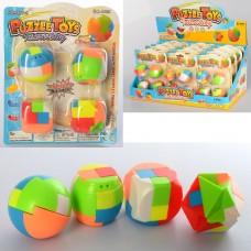 Игра 6698-1 кубик, 4 шт, 4,5 см
