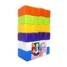 Кубики 48шт, 6*6*6см, в сетке 02-605 Киндервей