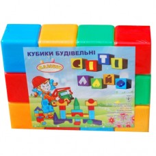 Кубики большие 12шт 021 Бамсик
