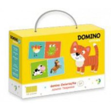 300137 Настольная игра Домино Животные