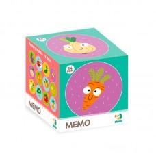 300156 Настольная игра Мемо Фрукты и Овощи
