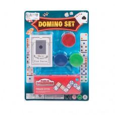 Домино 3896-30 карты, фишки с номиналом