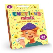 """Карточная игра """"Emotions Mimik"""", укр."""