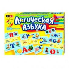 Настольная игра Логическая азбука, DT 66 Asp ДАНКО ТОЙС