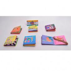 Книжка 2010-13 шуршалка, 12, 5-10, 5см, животные, 6видовке