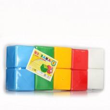 Кубики пластмасовые Радуга 1. ТехноК 1684 ТехноК 1684