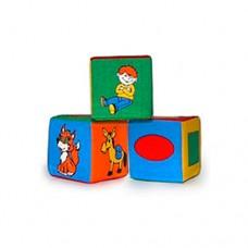 Набор мягких кубиков БАМСИК