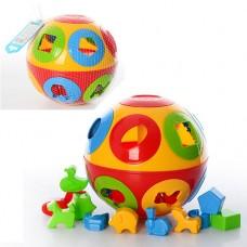 Развивающая игра Куб Умный малыш .ТехноК 2926