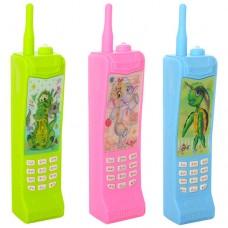 Телефон 8094 19, 5см, муз, звук, свет, 3вида