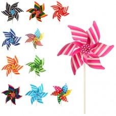 Ветрячок M 3725 Цветок, диаметр 21 см, палочка 21 см