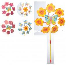 Ветрячок M 6236 цветок, диаметр 30 см, на палочке 43 см