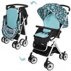 Детская прогулочная коляска Bambi HC300-BLUE, голубой