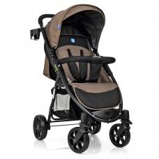 Прогулочная детская коляска Bambi M 3409-3-17, коричневый