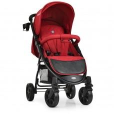Прогулочная детская коляска El Camino M 3409L FAVORIT Crimson, красный